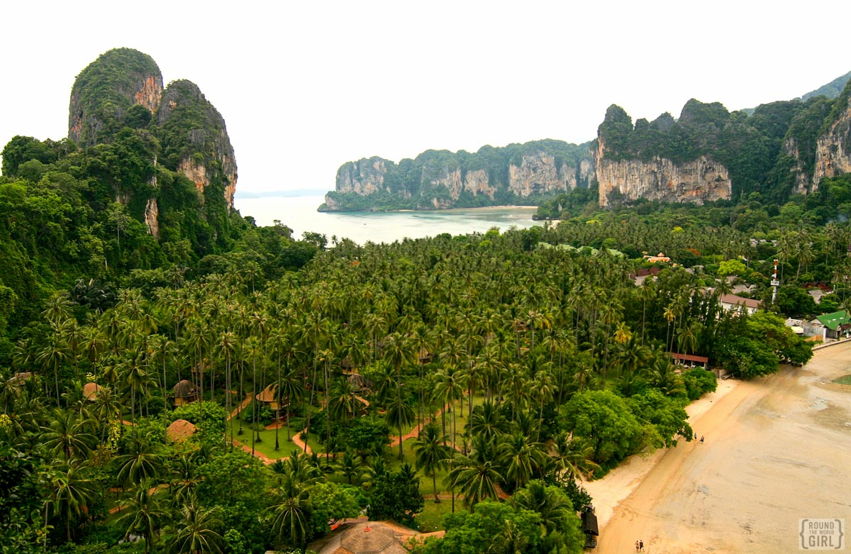 Thailand Photos - Railay| www.rtwgirl.com