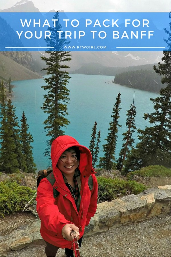 Banff Packing List | rtwgirl