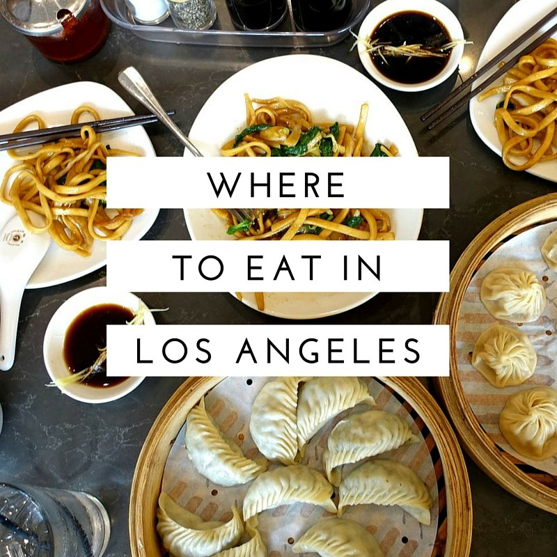 Los Angeles Restaurant Guide