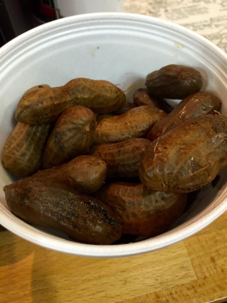 Boiled peanuts Georgia | www.rtwgirl.com