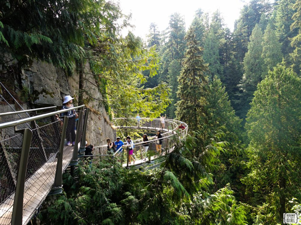 Cliff Walk At Capilano Suspension Bridge | www.rtwgirl.com