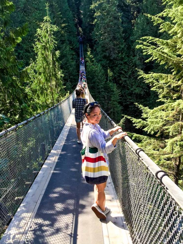 Capilano Suspenion Bridge - Vancouver, Canada