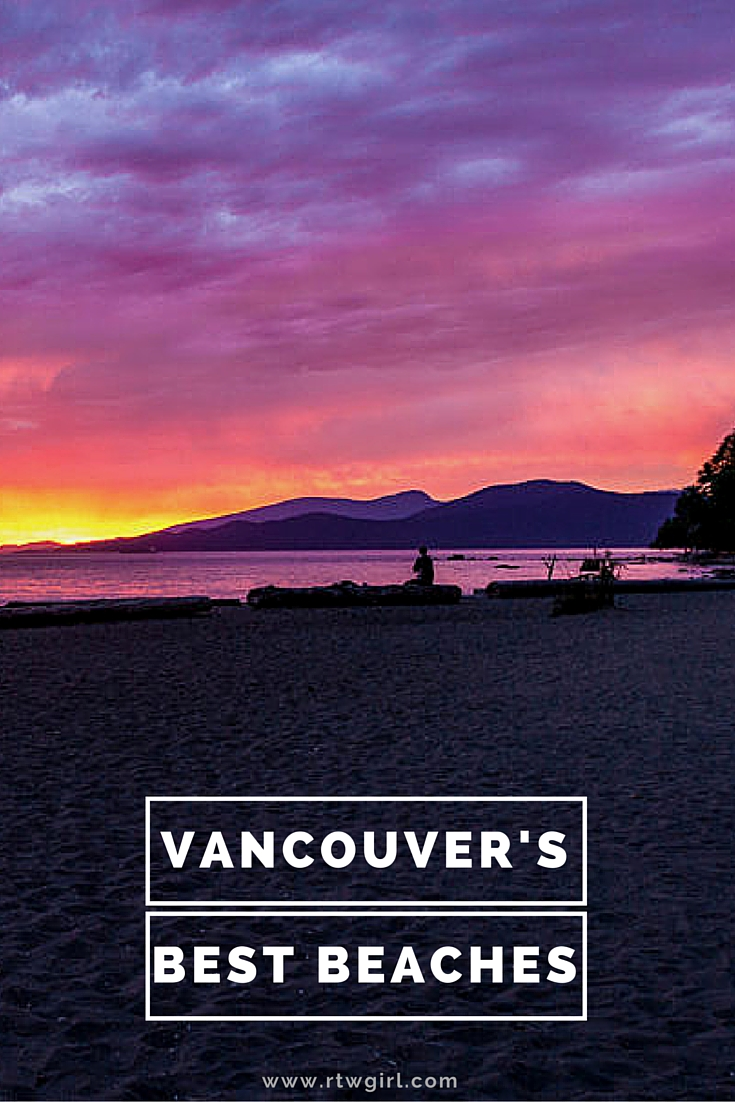 Vancouver's Best Beaches | www.rtwgirl.com