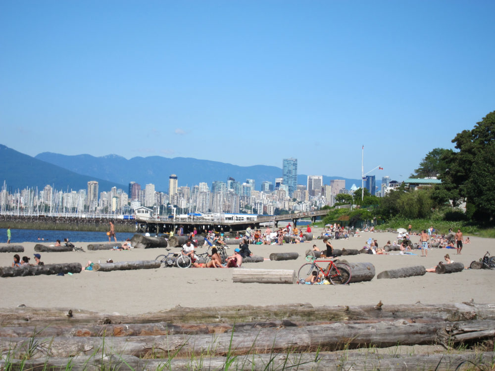 Vancouver Beaches - Jericho | www.rtwgirl.com