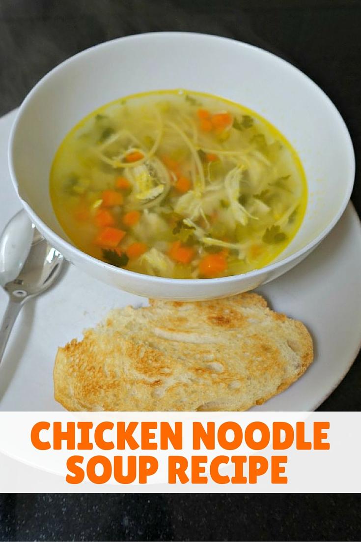 Chicken Noodle Soup Recipe | www.rtwgirl.com