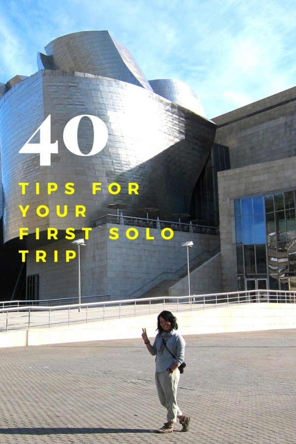 Solo Traveller Tips