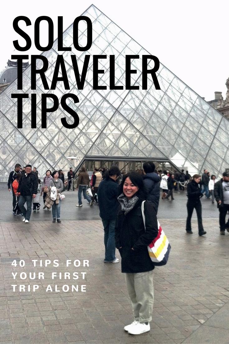 Solo Traveler Tips | www.rtwgirl.com