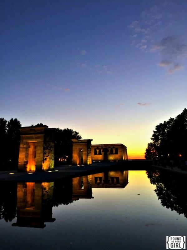 Templo de Debod - Free Madrid | rtwgirl