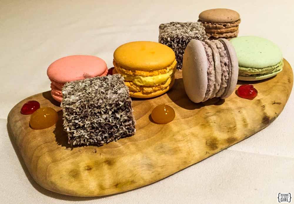 Lamington And Dessert