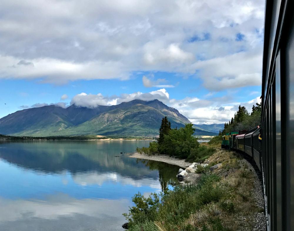 White Pass And Yukon Route Railway   via https://www.rtwgirl.com