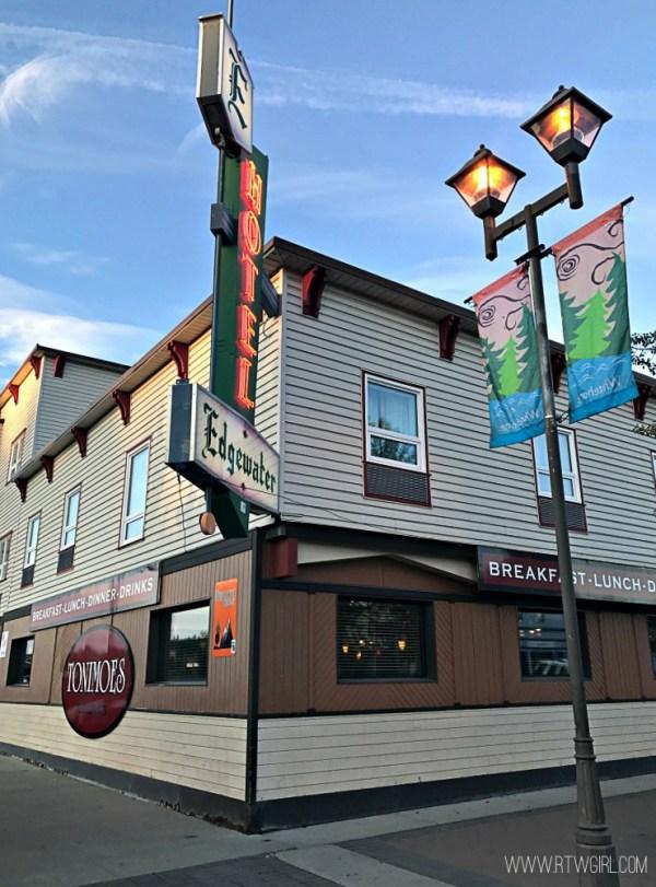 Edgewater hotel Yukon