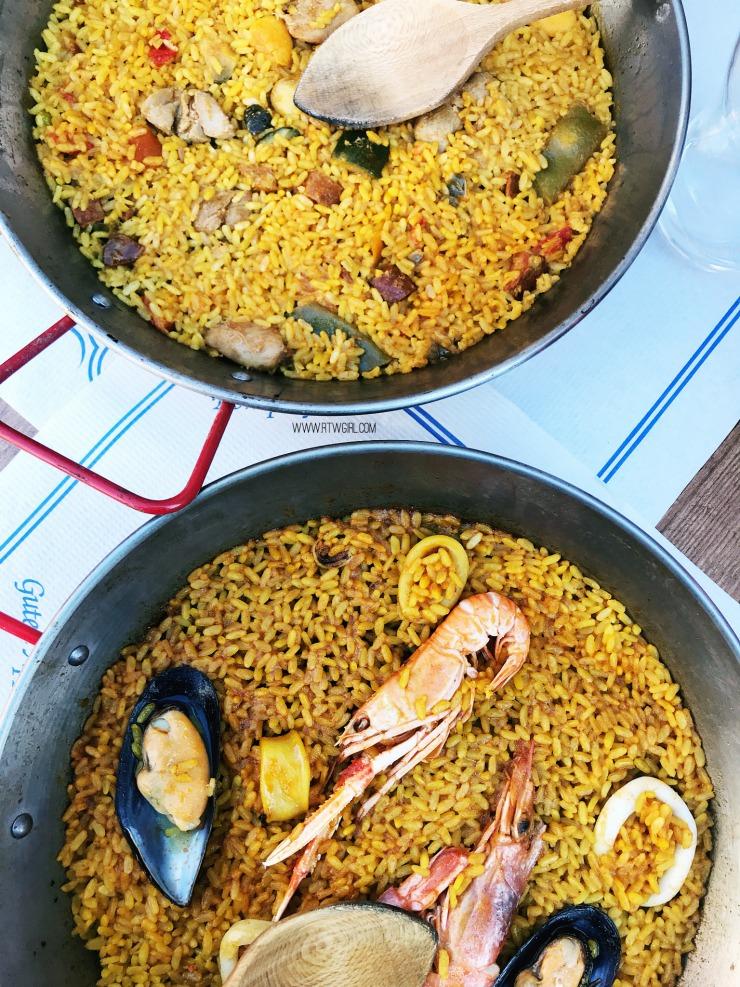 Paella in Valencia | www.rtwgirl.com