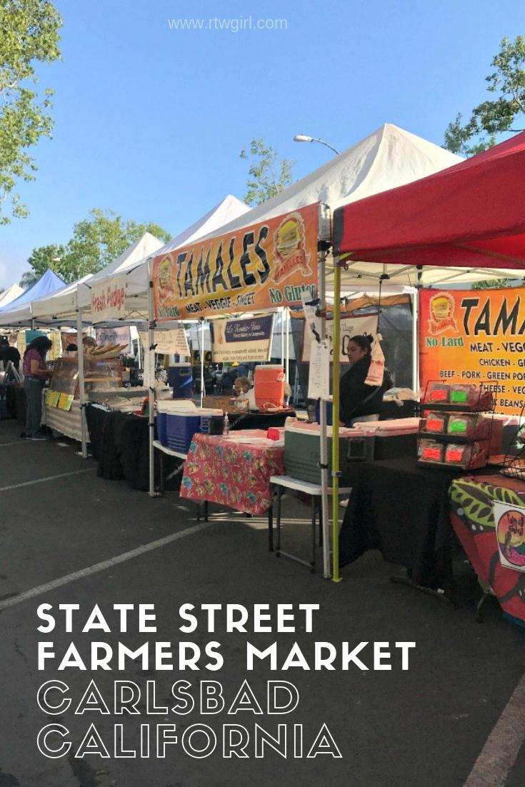 State Street Farmers Market in Carlsbad California