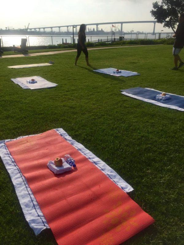 Marriott Coronado yoga