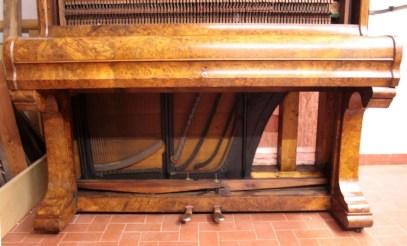15. Pianoforte Reogh 1890, dopo il restauro particolare meccanica interna