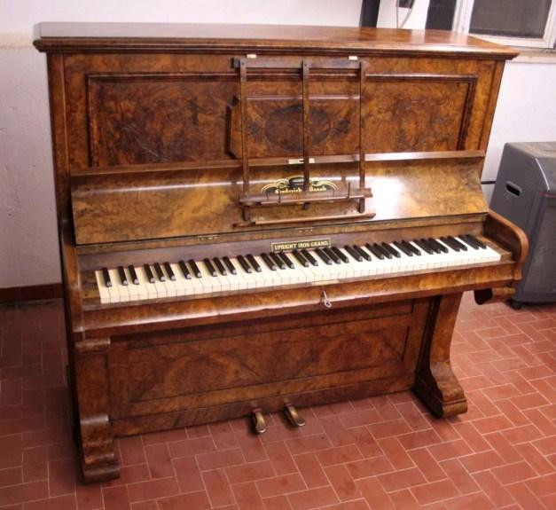 19. Pianoforte Reogh 1890, dopo il restauro