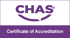 Chas: Certificate of Accreditation