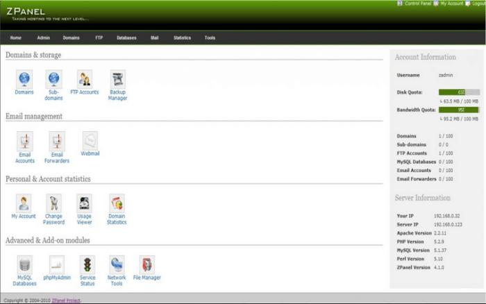 Pelajari penggunaan control panel hosting - 12 Langkah Menjadi Web Developer - sites.google.com