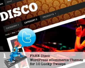 disco wordpress ecommerce themes tweet