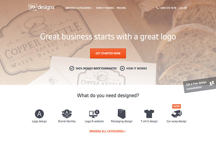 99designs / Ruang Freelance
