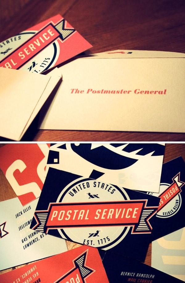 Brosur United States Postal Service Re-Branding