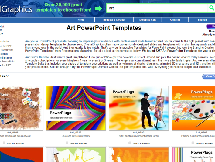 PowerPoint Crystalgraphics - Situs Download Presentasi PowerPoint, Elegan dan Gratis
