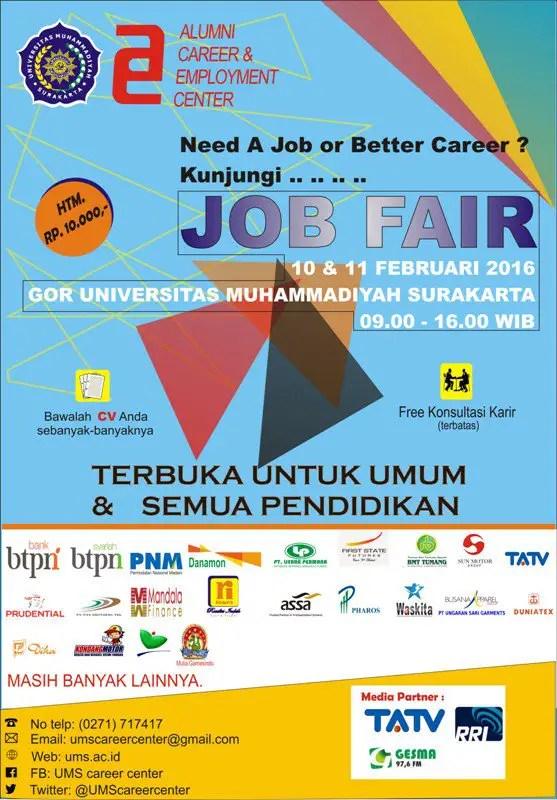 Job Fair di Solo