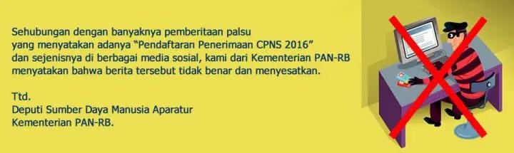 CPNS 2016