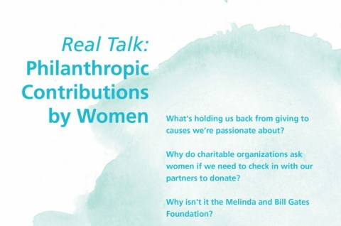 Women Philanthropy