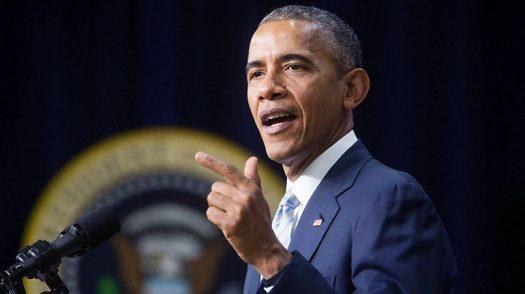 В 2014 году президент США Барак Обама говорил, что российская экономика разорвана в клочья санкциями / Источник: