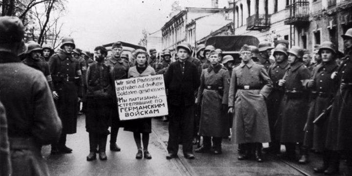 Lietuviai veda žudyti baltarusių partizanus