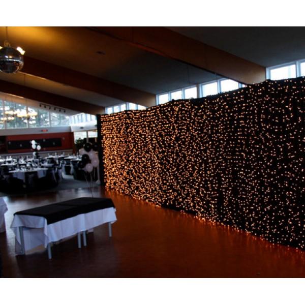 rideau lumineux led 6 x 3 metres