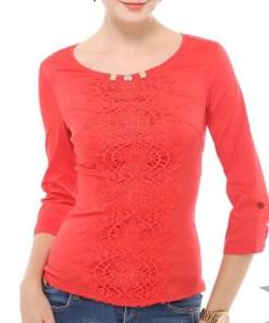 Блуза женская 13283 белый цвет