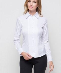 Блузка женская 1239 белый цвет