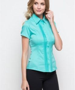 Блузка женская 1239-1 ментоловый цвет