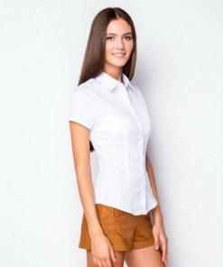 Блузка женская 132185 белый цвет