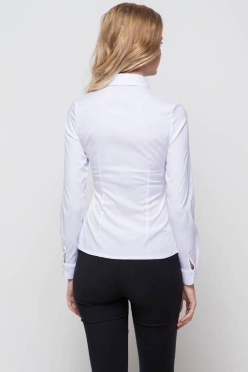 Блузка женская 13261 белый цвет