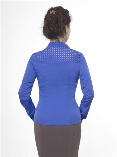 Блузка женская 13262 коралловый цвет