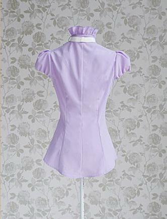 Блузка женская 171716 светло-сиреневый цвет