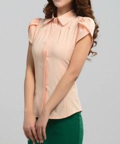 Блузка женская 171718 персиковый цвет