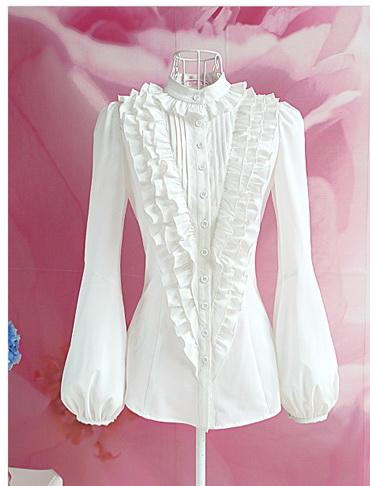 Блузка женская 171721 молочный цвет