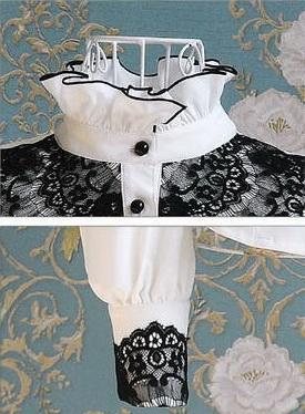 Блузка женская 171728 белый цвет