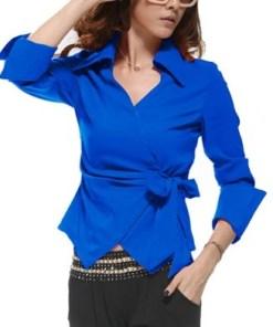 Блузка женская 171731 электрик цвет