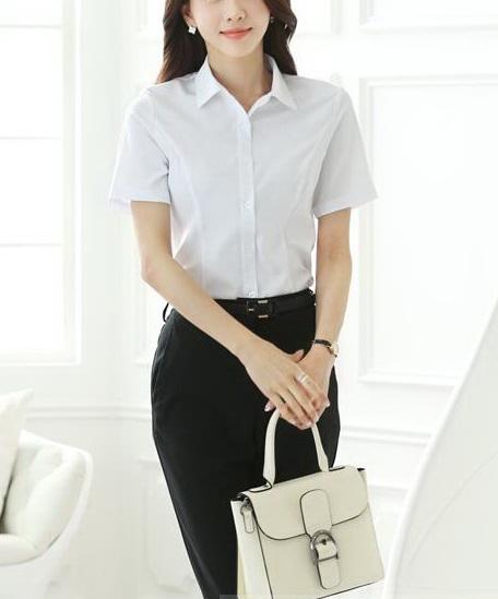 Блузка женская 171741 белый цвет