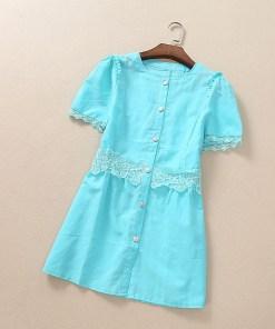 Блузка женская 171751 бирюзовый цвет