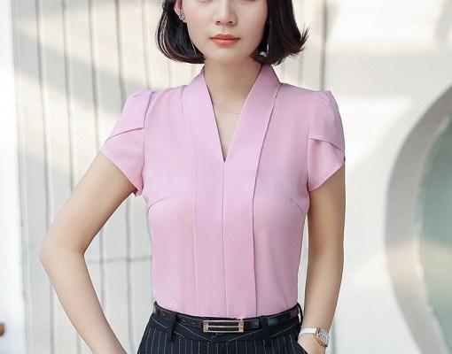 Блуза женская 171758 розовый цвет
