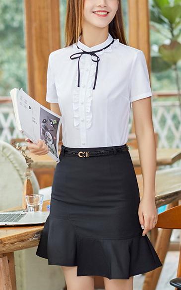 Блузка женская 171763 белый цвет