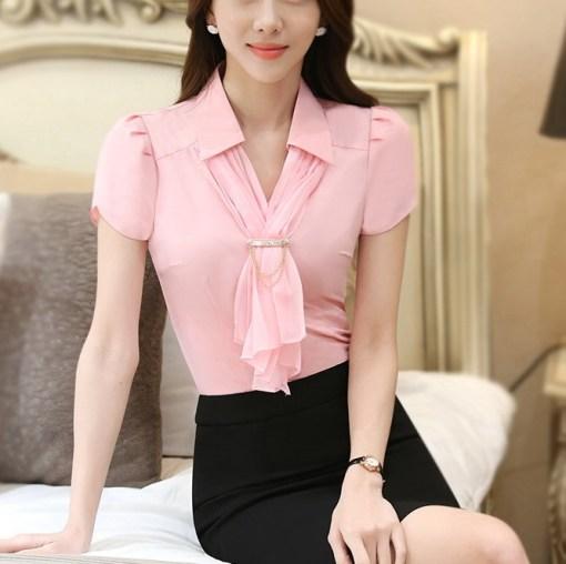 Блуза женская 171769 розовый цвет