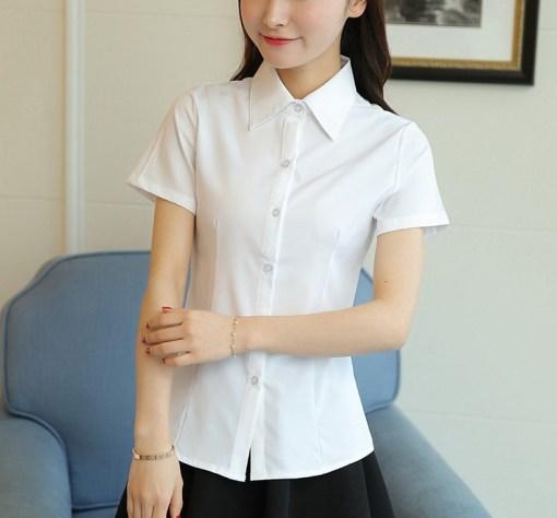 Блузка женская 171774 белый цвет