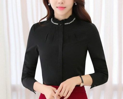 Блузка женская 171781 черный цвет